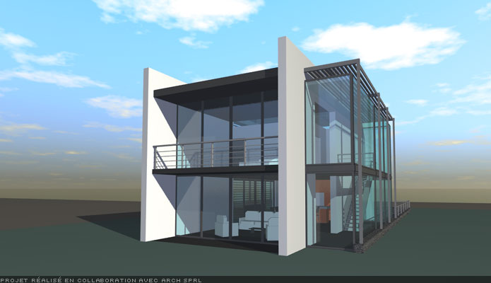 sb architecture sophie broux architecte. Black Bedroom Furniture Sets. Home Design Ideas